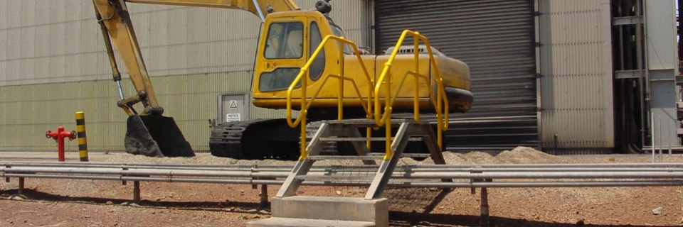 Zinafex Karumba lead cleaning area access design & installation