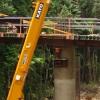 Cardwell Range temporary shoring design