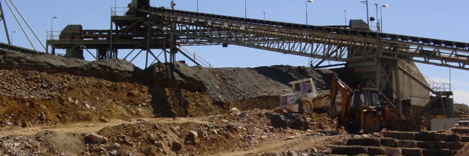 Osborne mine ROM pad collapse rebuild & conveyor repositioning