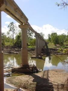 Bridge Repair CSR Expedition Creek Burdekin Area