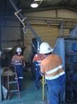 Osborne mine winder work