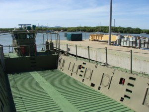 Ross Island Army Landing Craft 1