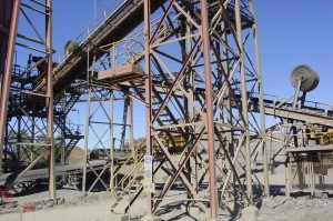 Selwyn mine conveyors